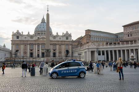 jubilee: VATICAN CITY, 14 november 2015 - Enhanced security in Rome after the terrorist attacks in Paris, waiting for the jubilee.