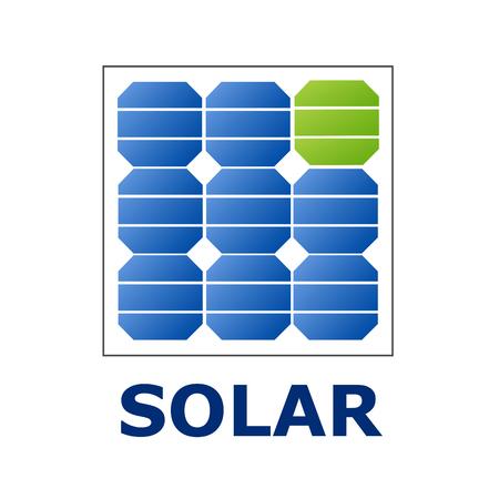 installateur: Vector sign Solar Panel