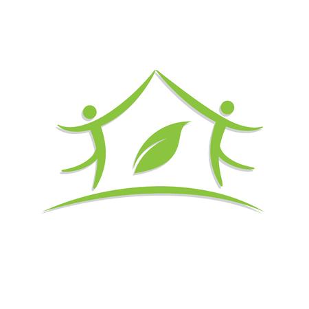 echo: Vector sign Green House