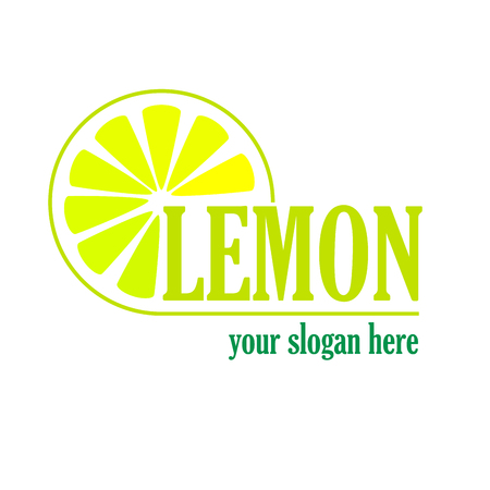 lemon: Vector sign Lemon