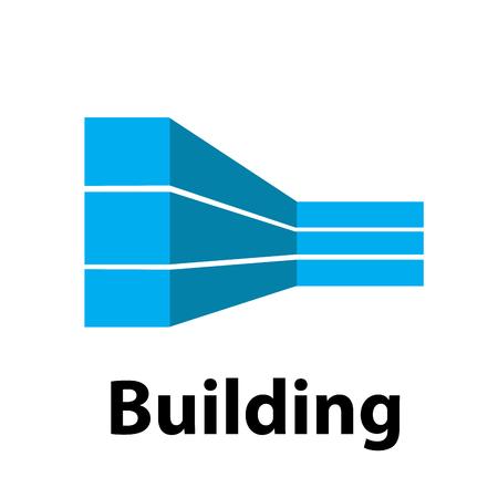 building trade: Vector sign building