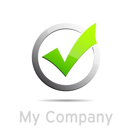 validation: Vector sign Validation Illustration