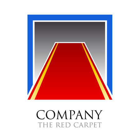 public relations: Vector logo Red Carpet. Public relations