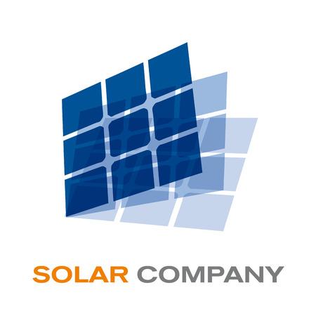 Vector sign solar panel