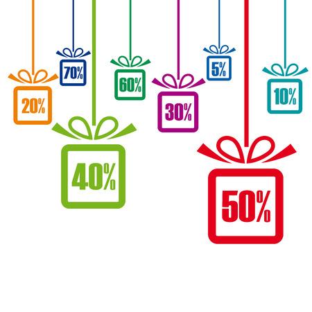 discounts: Vector discounts cover