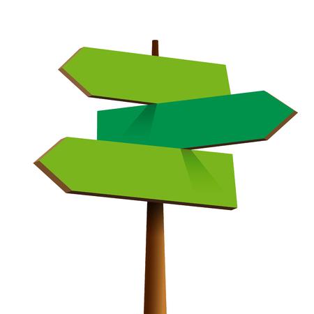 highway 3: Vector road signs