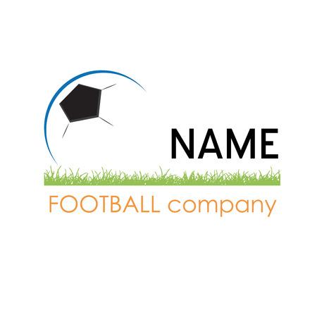 company: Vector sign football company