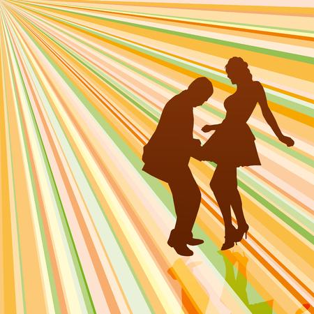 pareja bailando: bailarines de cosecha de fondo