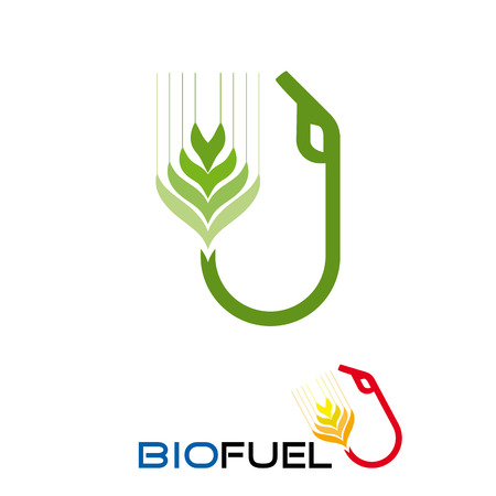 biofuel: Vector sign biofuel