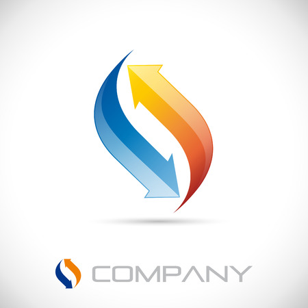 Vector sign air conditioning Illustration
