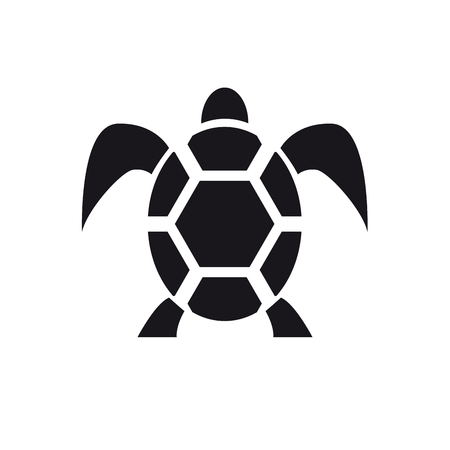 removals: Vector sign abstract tortoise Illustration