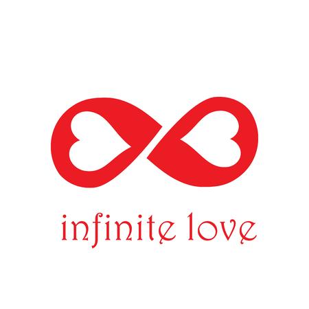 Vector sign infinite love