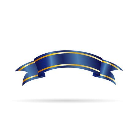 rewarded: Vector ribbon for award-winning product