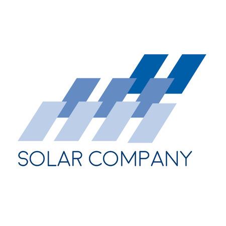 installer: Vector sign solar panel