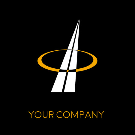 engineering icon: Vector sign construction company
