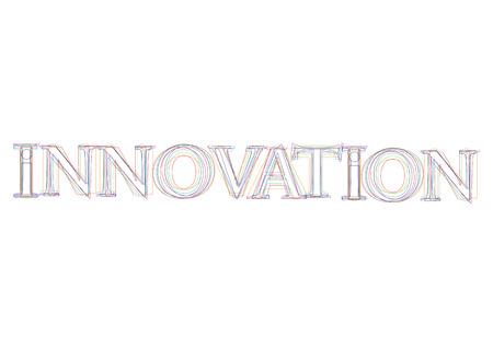 innovation word: Vector word Innovation