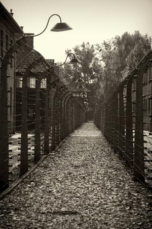 oswiecim: OSWIECIM, POLAND - AUG 18: Nazi concentration camp Auschwitz I on August 18 2015 in Oswiecim, Poland.