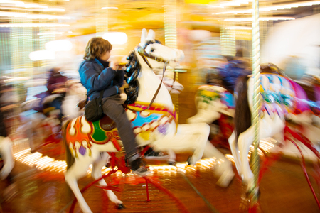 panning: Carousel in panning style