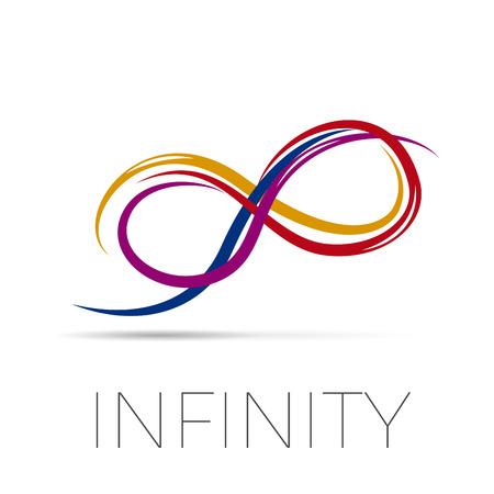 Vector sign infinity