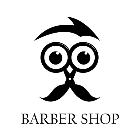 barber: Vector sign barber shop