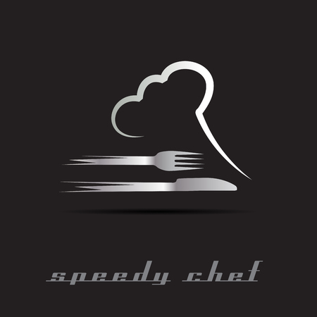 Vector Speedy Chef