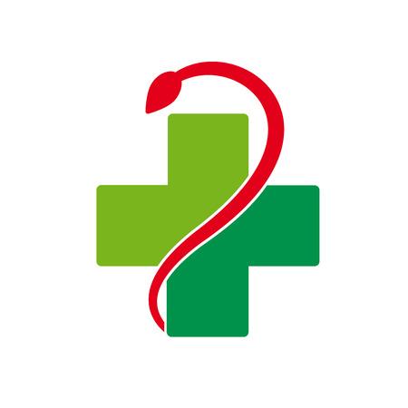 pharmacy symbol: Vector sign abstract pharmacy Illustration
