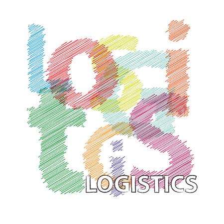 broken strategy: Vector logistics. Broken text scrawled