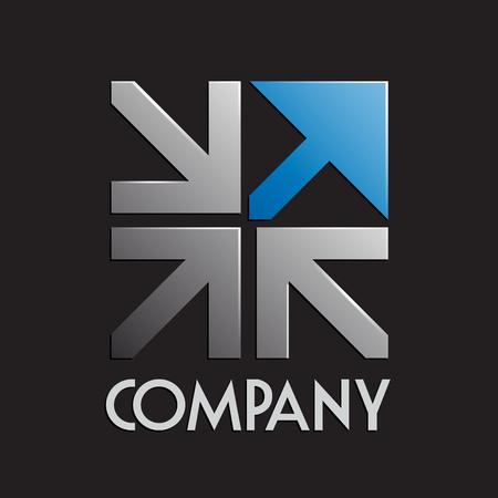 Vector signo de negocio e innovación Ilustración de vector