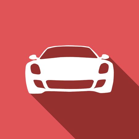importer: car service. vector in flat design Illustration