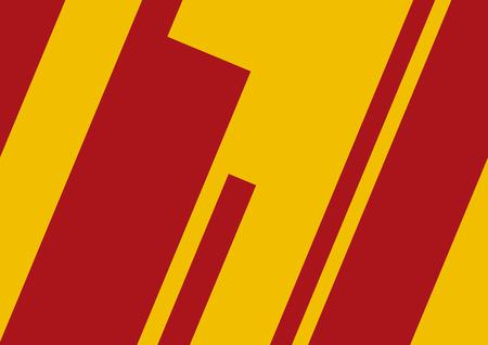 spanish flag: Abstract geometric artwork, spanish flag concept