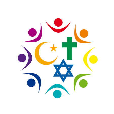 Peace And Dialogue Between Religions Christian Symbols Jew