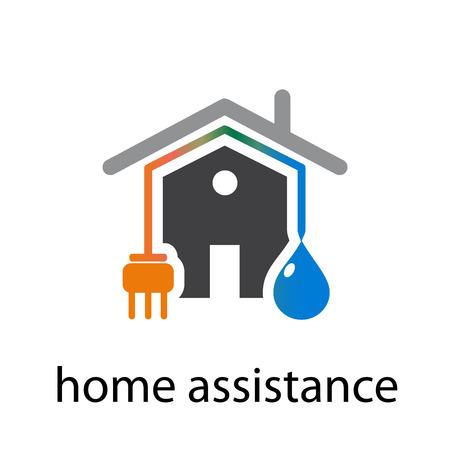 Vektor-Konzept Home Energy Standard-Bild - 58532518