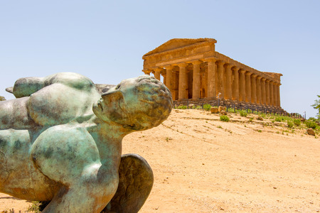 agrigento: Valley of Temples, Agrigento Sicily in Italy.