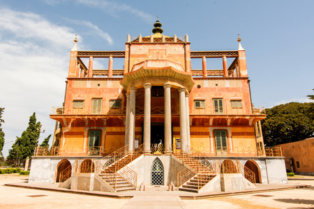 ferdinand: Chinese building in Palermo, Sicily, Italy,