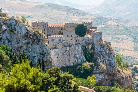 norman castle: Caccamo medieval castle, near Palermo, Sicily