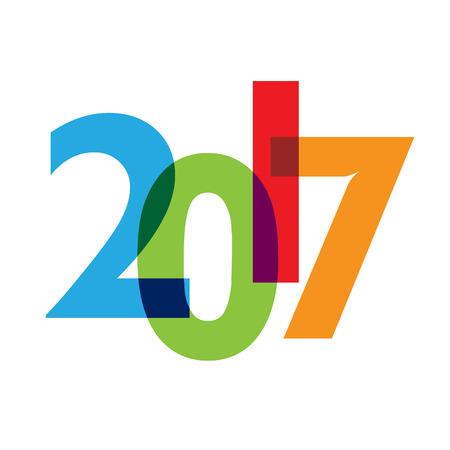 creative: colorful creative text 2017