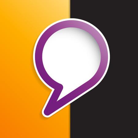 cover: cover speech in purple
