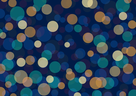 blue circles: blue circles of light abstract background