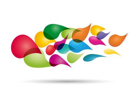 ferreteria: color de fondo abstracto con gotas de impresora