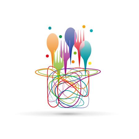 abstract Creative Cuisine