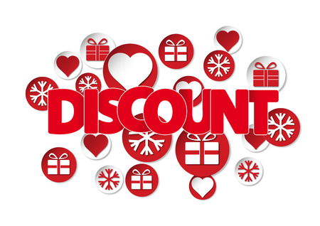 winter discounts cover with text