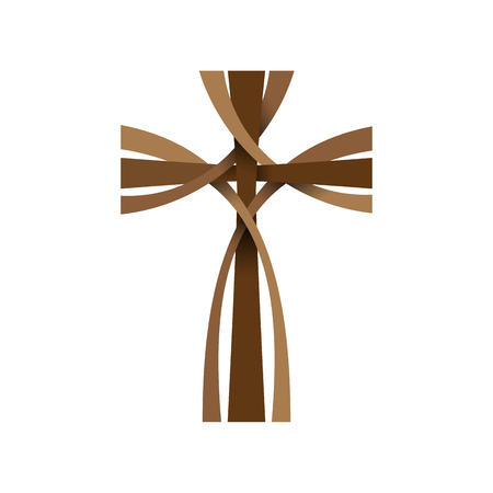 A Vector abstract  crucifix; three crosses