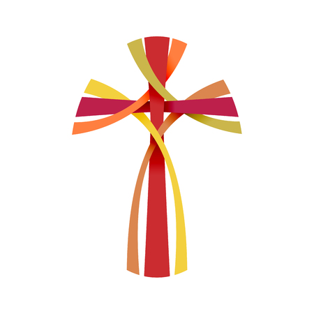 Vector abstract Christ crucifix; three crosses Stock Vector - 75333996