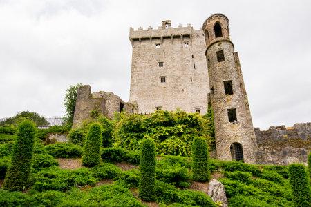 Landschappen van Ierland. Blarney kasteel, in de buurt van Cork