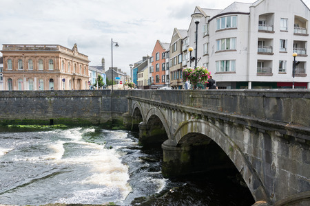 Landascapes of Ireland. Sligo city Stock Photo