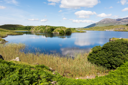 Landscapes of Ireland. Connemara in Galway county