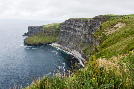 Landscapes of Ireland. Cliffs of moher