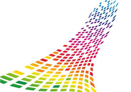 numérique vecteur abstrait avec pixel pixel