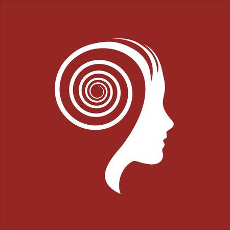 Signe de vecteur pensée dynamique