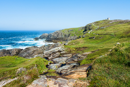 Landscapes of Ireland. Malin Head in Donegal